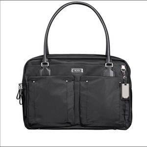 Tumi cortina boarding tote bag black